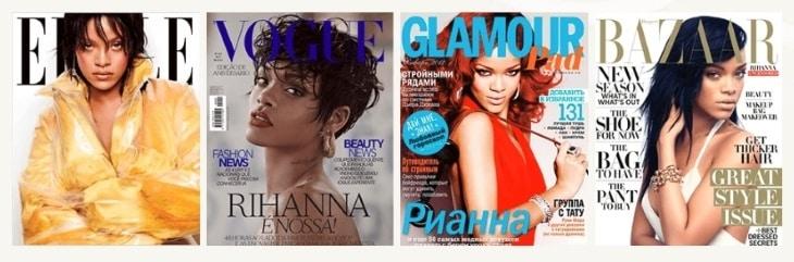 Известные журналы рекомендуют Fenty Beauty