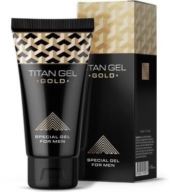 Мужской крем Titan Gel Gold для увеличения достоинства