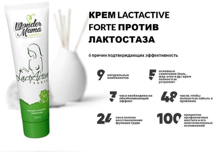 6 причин подтверждающих эффективность LactActive Forte
