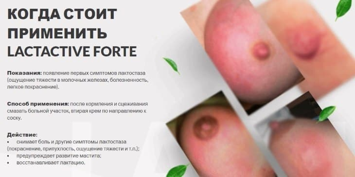Когда следует применять LactActive Forte