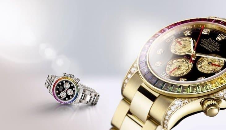Кому подойдут часы Rolex White Gold Daytona Rainbow