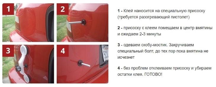 Инструкция по применению Car-Fix