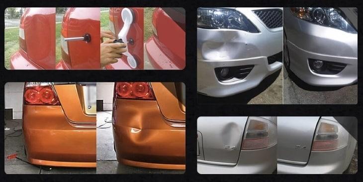 Результаты до и после использования Car-Fix
