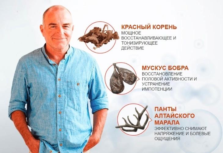 Состав средства ProstEro