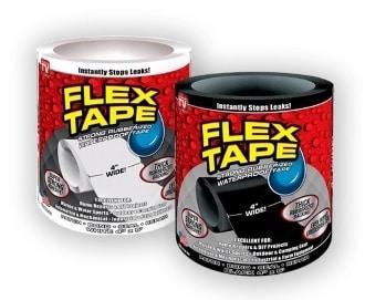 Flex Tape - супер стойкая водонепроницаемая лента