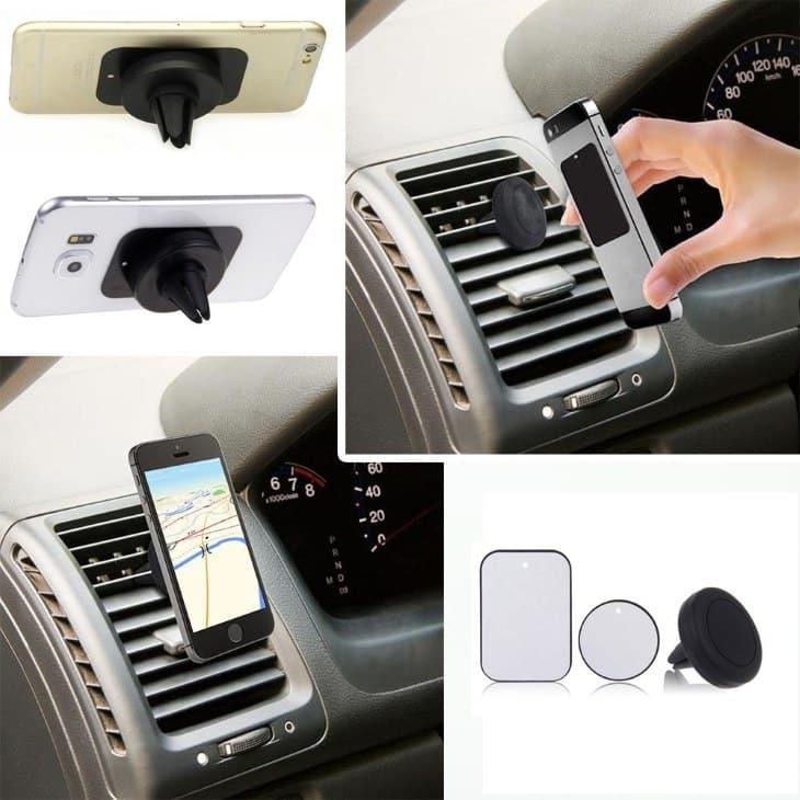 Мой обзор на автомобильное крепление для телефона Magnetic Air