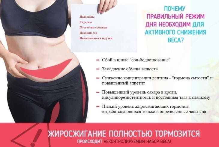 Почему правильный режим необходим для снижения веса