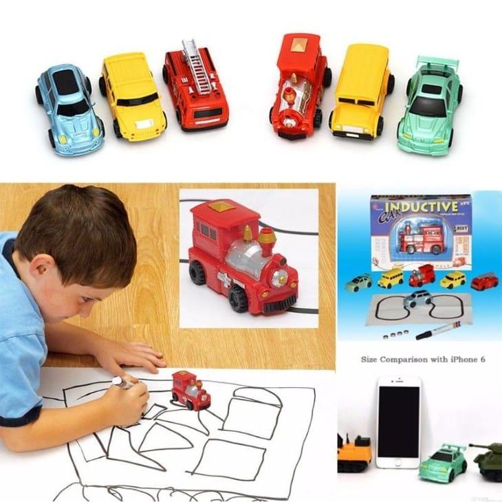 Кому она подойдет машинка игрушка Inductive Car
