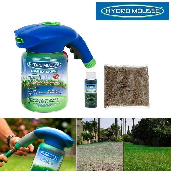 Жидкий газон Hydro Mousse: купить, цена, отзывы и обзор