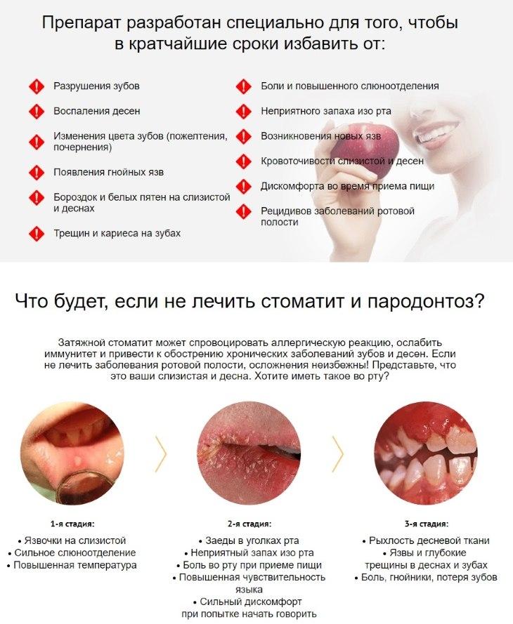 В чем опасность стоматита и пародонтоза