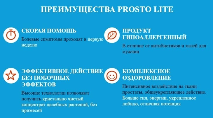Главные преимущества ProstoLite