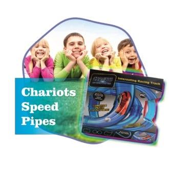 Chariots Speed Pipes автотрек в трубе