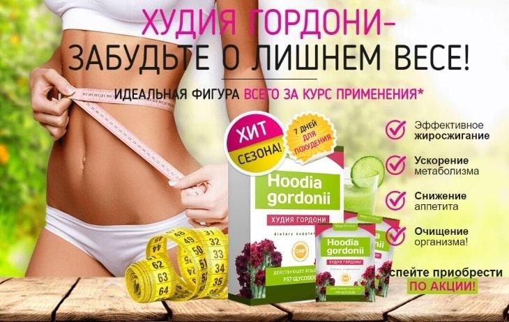 Худия Гордони для похудения: купить, цена, отзывы, обзор