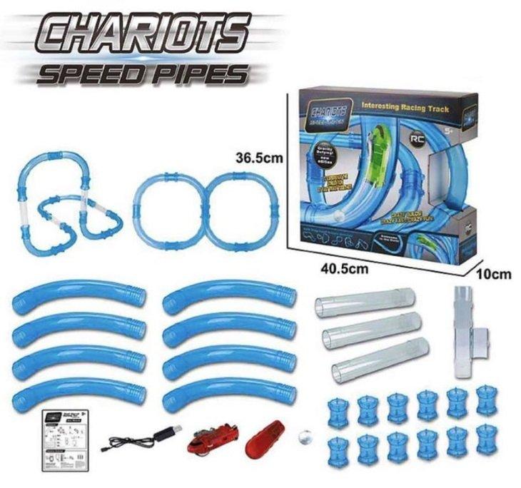Что входит в комплект Speed Pipes