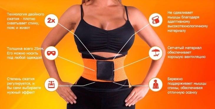 Характеристики Xtreme Power Belt