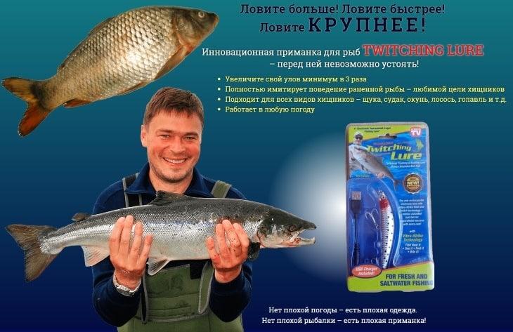Twitching Lure приманка для рыб: купить, цена, отзывы, обзор