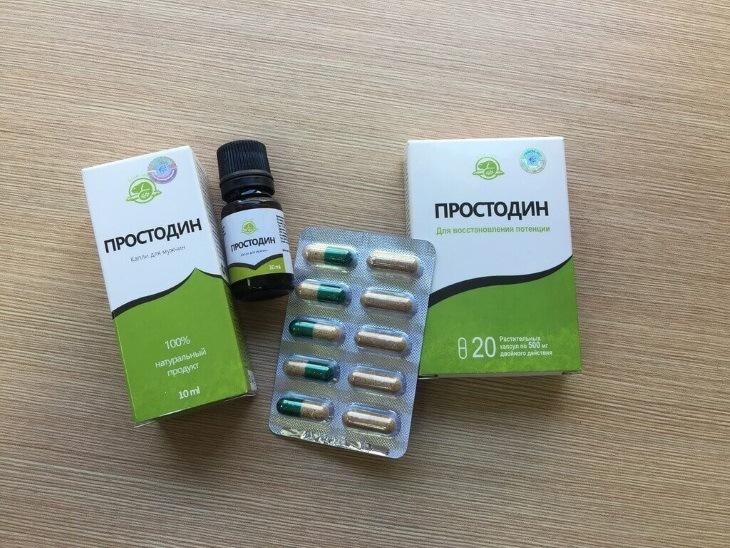 Мой обзор на препарат для лечения простатита Простодин