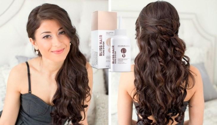 Мой обзор на препарат для улучшения состояния волос Bliss Hair
