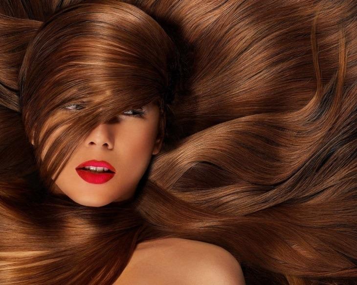 Девушкам важен уход за волосами