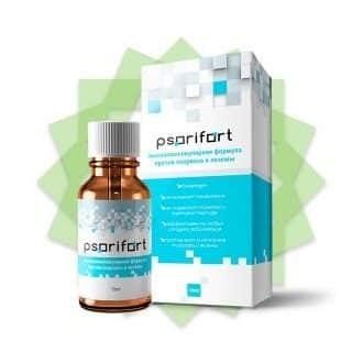 Psorifort (Псорифорт) от псориаза