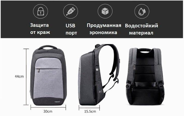 Главные преимущества сумки Tigernu