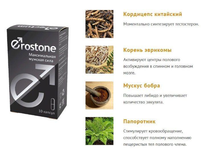 Что входит в состав Erostone