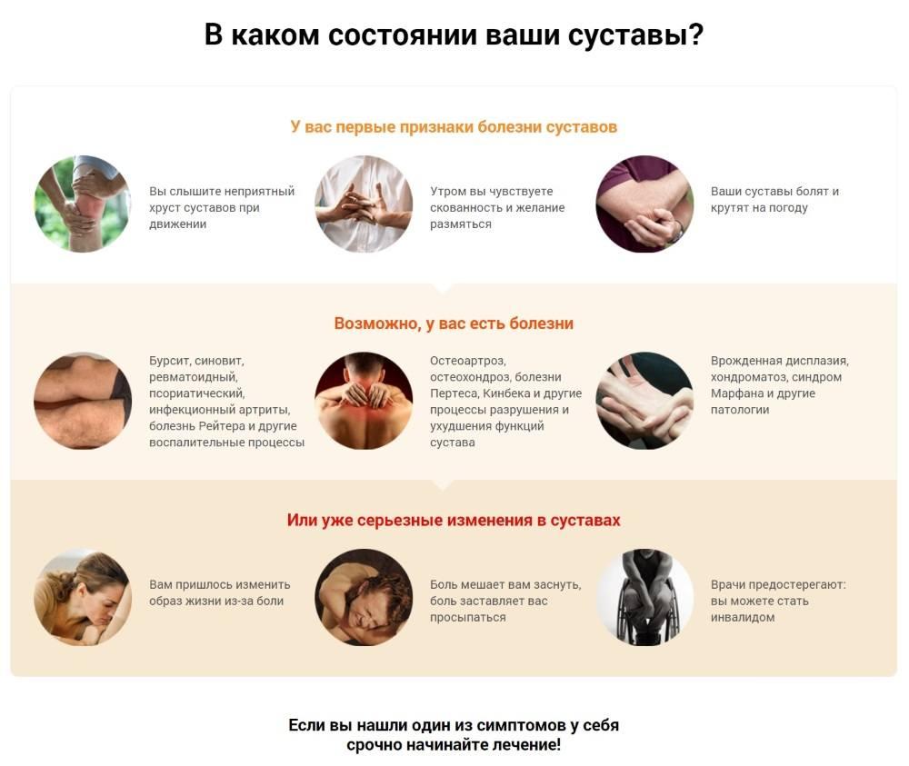 Проверьте состояние ваших суставов