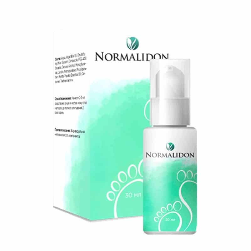 Normalidon (Нормалидон) от грибка стоп и ногтей