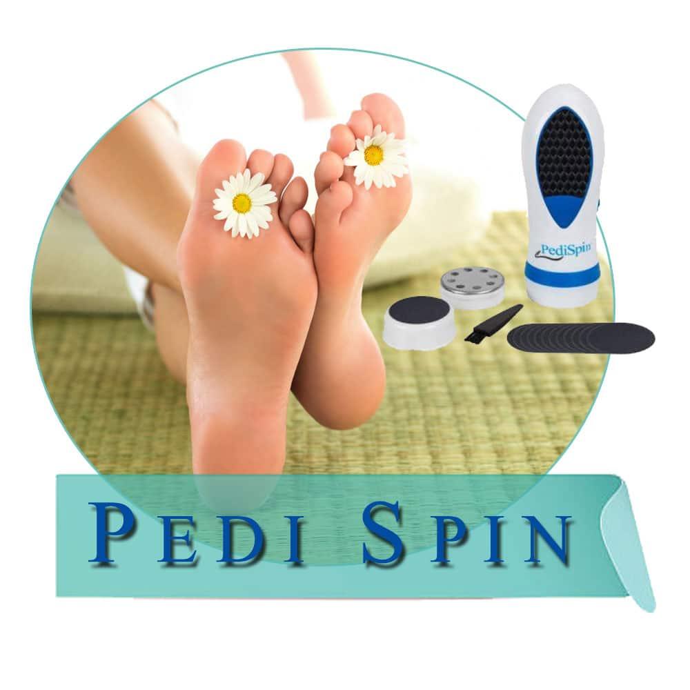 Pedi Spin (Педи Спин) японская электрическая пемза
