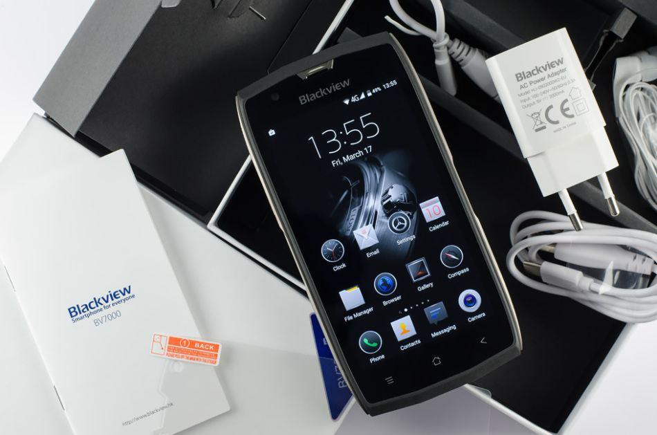 Обзор на телефон с защитой от повреждений Blackview BV7000 Pro
