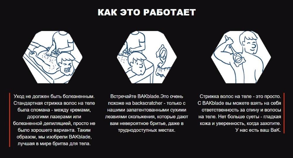 Как работает Bakblade