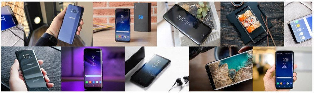 Как выглядит реплика смартфона Samsung Galaxy S8