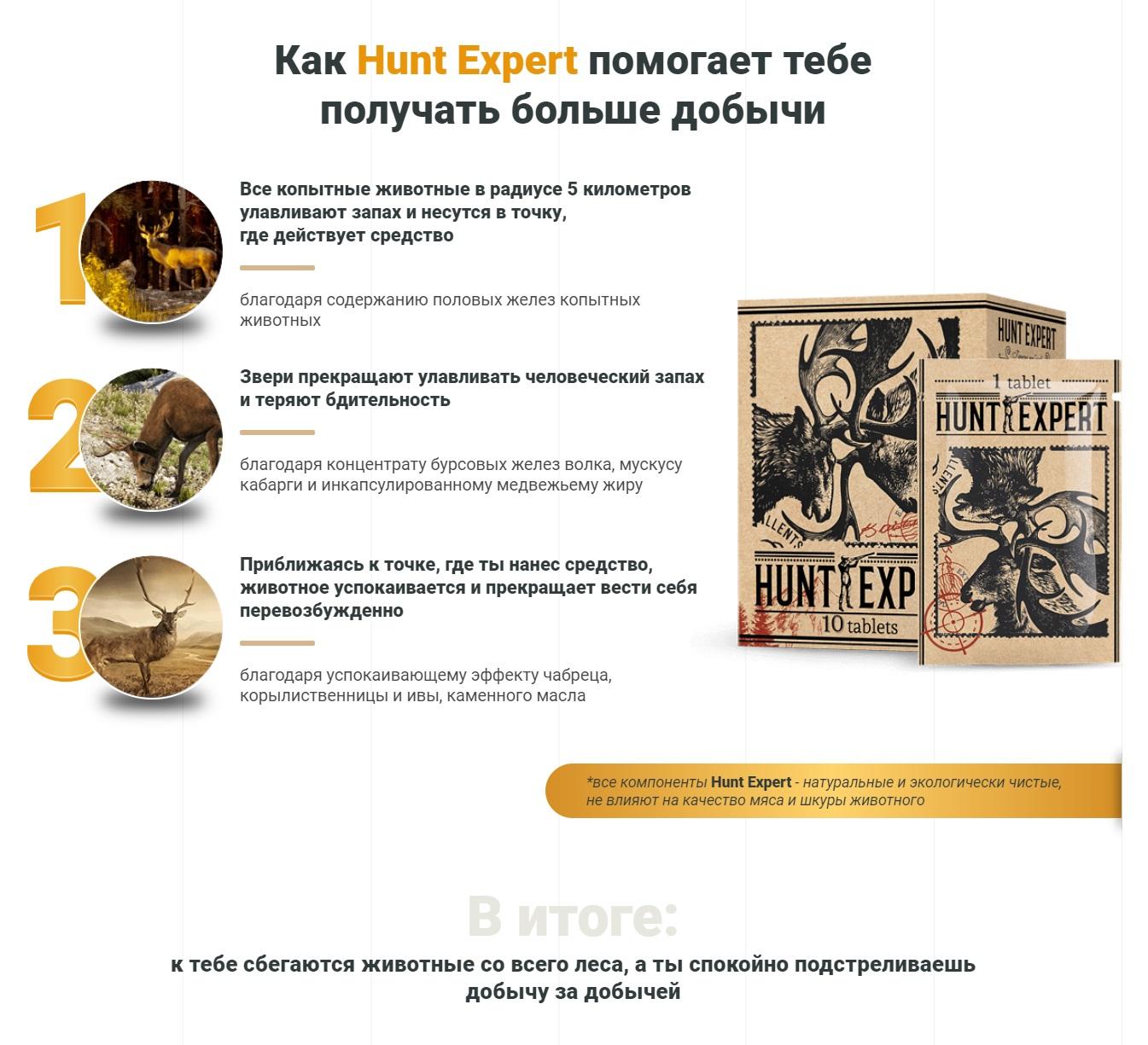 Как работает приманка Hunt Expert