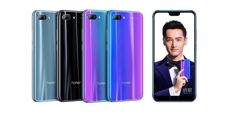 Внешний вид копии Huawei Honor 10
