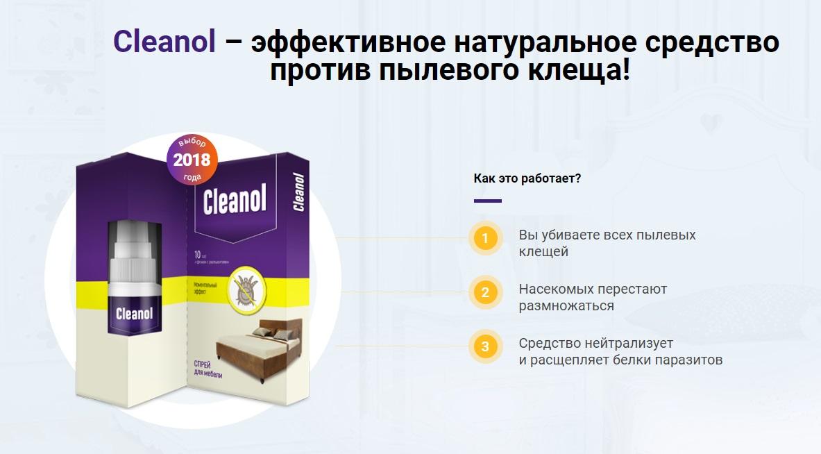 Как работает Cleanol Home