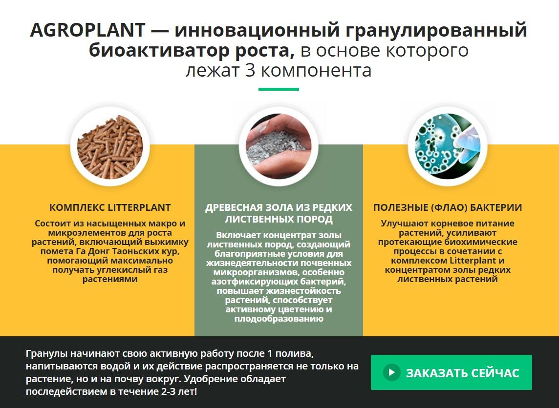 Что входит в состав AgroPlant