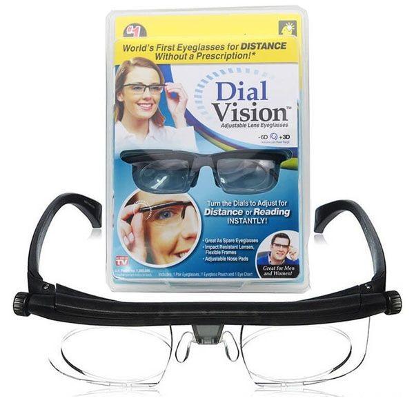 Dial Vision очки с настраиваемыми диоптриями